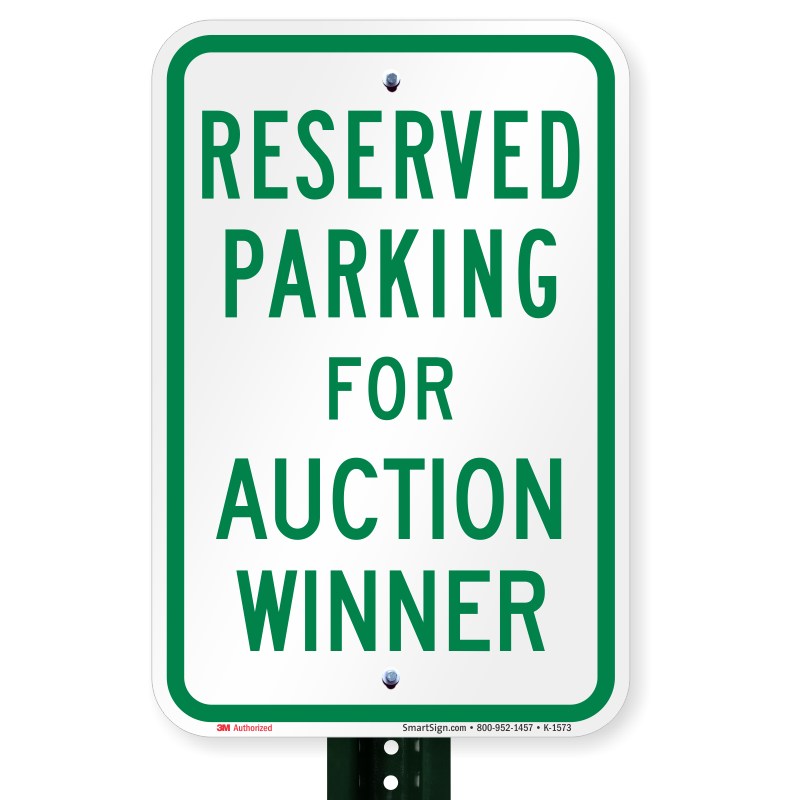 Rich Hill Tiger Pride Booster Club Parking Spot Auction