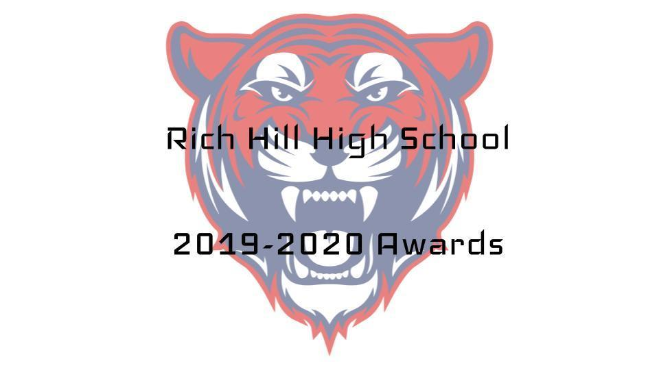 Rich Hill High School end of the year awards