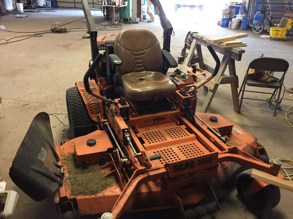 RHR4 Board Lists Table Saw, Mower As Surplus Property
