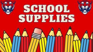20-21 School Supply List