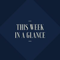 This week in a glance
