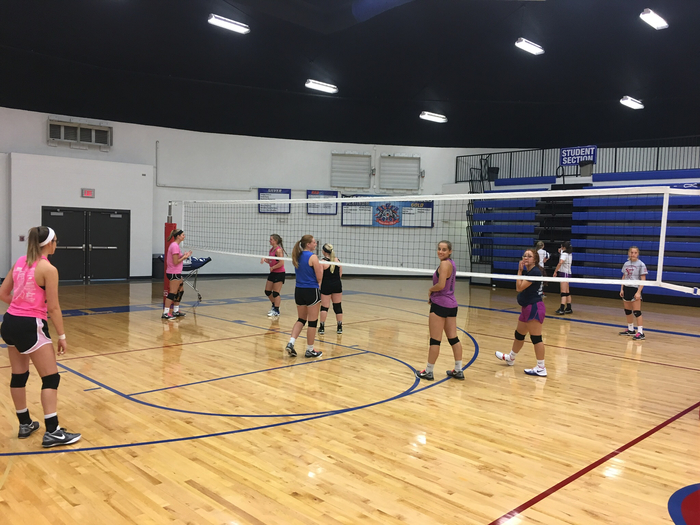 Volleyball Practice Has Started!!!