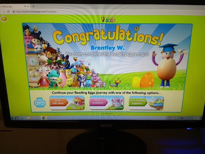Congratulations Brently W.!