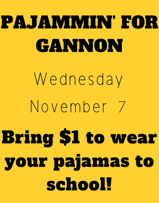 PJs for Gannon