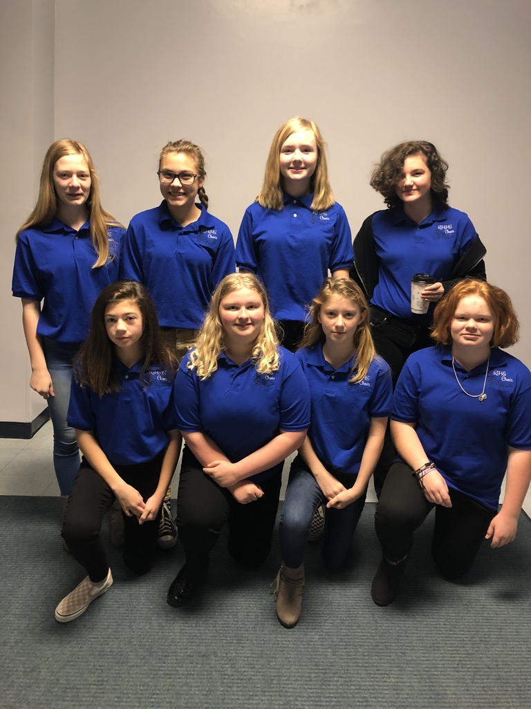 Junior High Honor Choir members